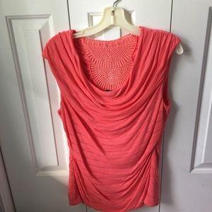 Sleeveless summer knit top